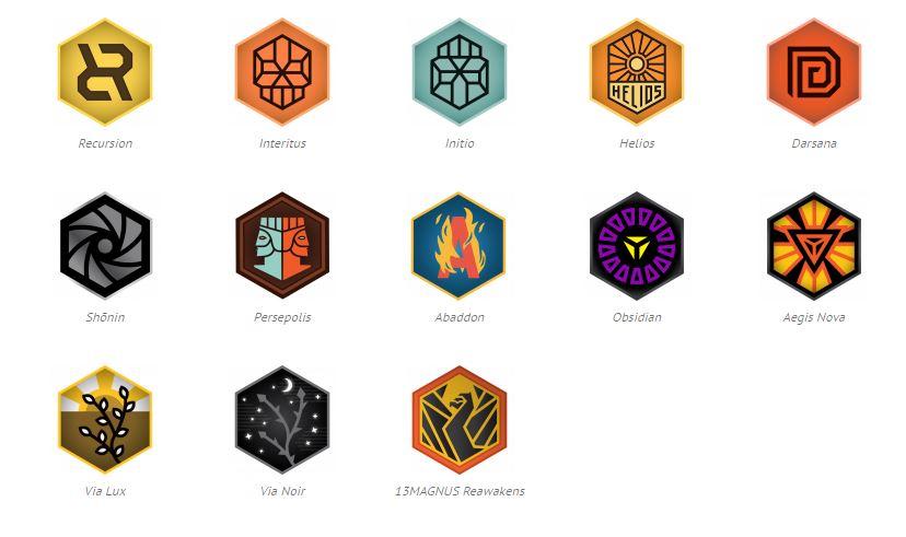 Ingress Medals (Badges) - FevGames