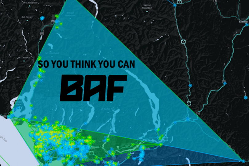 So you think you can baf