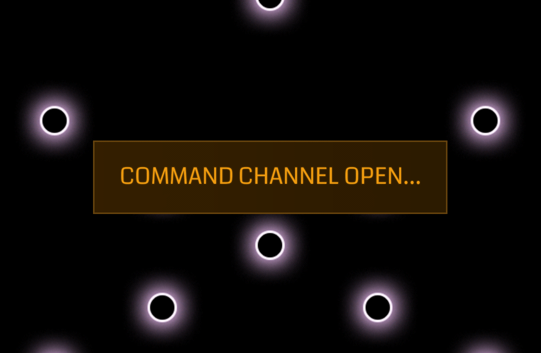 glyph command channel feature