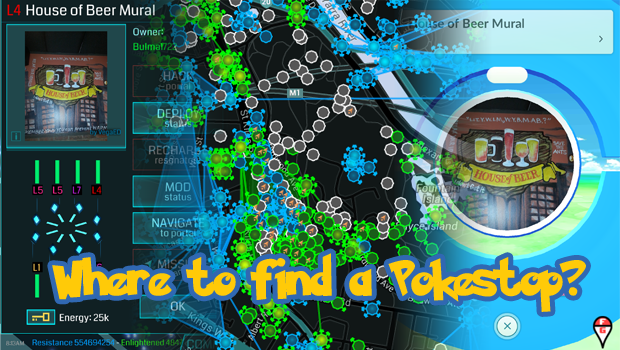 where to find pokestop header