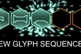 new glyph sequences