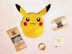 Pokémon Go Safari Goodies