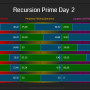 Recursion Prime Day 2